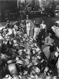 Collection Point in New York City for Aluminum During World War 2 Photo