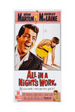 All in a Night's Work Poster