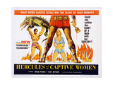 Hercules and the Captive Women Prints