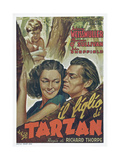 Tarzan Finds a Son! Posters