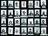 Montage of Manhattan Project Personnel at Los Alamos During World War 2 Photo
