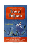 The Tales of Hoffmann Planscher