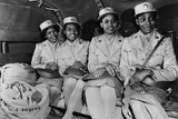 African American Members of the Women's Army Auxiliary Corps. They are at the Waac Training Center Photo