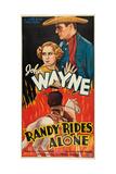 Randy Rides Alone Print