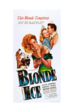 Blonde Ice Poster