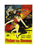 The Girl from Havana Prints