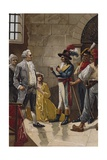 King Louis XVI of France at Legislative Assembly, August 1792 Poster