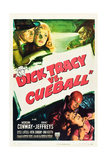 Dick Tracy vs. Cueball Art
