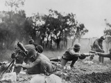 African American Mortar Company of the 92nd Division in Combat Near Massa Photo
