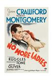 No More Ladies Print