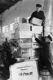 Warehouse Supplies During the World War 2 Photo
