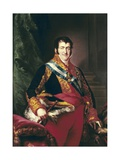 King Fernando VII of Spain Print by Vicente Lopez y Portana