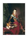 King Fernando VII of Spain Giclee Print by Vicente Lopez y Portana