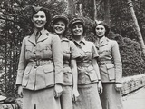Uniformed Women of the British Military Services During World War 2 Photo