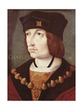 King Charles VIII of France(1470-1498), 16th C Prints by Jean Perreal