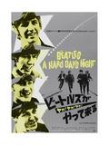 Kovan päivän ilta, A Hard Day's Night Posters