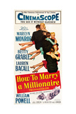 How to Marry a Millionaire Prints