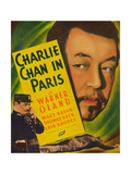 Charlie Chan in Paris Plakater