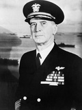 Admiral Ernest King in Full Naval Uniform Photo