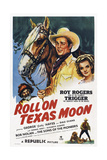 Roll on Texas Moon Print