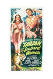 Tarzan and the Leopard Woman Prints