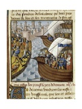 Seventh Crusade Prints by Vincent de Beauvais