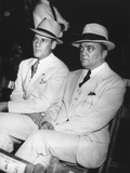 J. Edgar Hoover and Clyde Tolson at the Joe Louis-Jack Sharkey Fight Photo