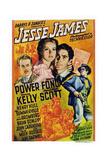 Jesse James Print
