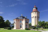 Water Tower and Pagodenburg Pavillon, Rastatt, Black Forest, Baden Wurttemberg, Germany, Europe Photographic Print by Markus Lange