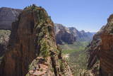 Trail to Angels Landing, Zion National Park, Utah, United States of America, North America Photographic Print by  Gary