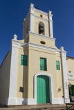 Plaza San Juan De Dios, Church, Camaguey, Cuba, West Indies, Caribbean, Central America Photographic Print by  Rolf