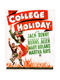 College Holiday Posters