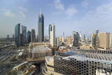 Elevated View of the Modern City Skyline and Central Business District Photographic Print by  Gavin