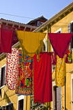 Washing Day, Laundry Drying, Castello, Venice, UNESCO World Heritage Site, Veneto, Italy, Europe Photographic Print by Guy Thouvenin