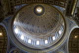 Interior View of the Dome of St. Peter's Basilica, Vatican, Rome, Lazio, Italy, Europe Photographic Print by  Peter