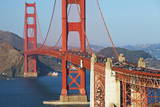 Golden Gate Bridge, San Francisco, California, United States of America, North America Photographic Print by  Miles