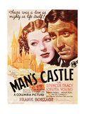 Man's Castle Print