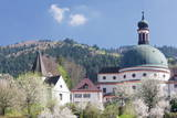 Monastery of St. Trudpert, Munstertal Valley, Black Forest, Baden Wurttemberg, Germany, Europe Photographic Print by  Marcus