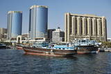 Deira Twin Towers, Dubai Creek, Dubai, United Arab Emirates, Middle East Photographic Print by  Matt
