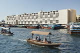 Abra (Ferry Boat), Dubai Creek, Dubai, United Arab Emirates, Middle East Photographic Print by  Matt