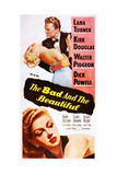 The Bad and the Beautiful Posters