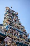 Shri Kathirvelayutha Swamy Kovil, a Hindu Temple, Colombo, Sri Lanka, Asia Reprodukcja zdjęcia autor Charlie