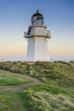 Waipapa Point Lighthouse at Sunset, the Catlins, South Island, New Zealand, Pacific Photographic Print by  Michael