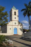 Church and Main Square, Vinales, Pinar Del Rio, Cuba, West Indies, Caribbean, Central America Photographic Print by  Rolf