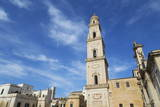 Camplonile and Cattedrale Di Santa Maria Assunta in the Baroque City of Lecce Photographic Print by  Martin