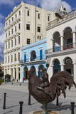 Plaza Vieja, Havana, Cuba, West Indies, Caribbean, Central America Photographic Print by  Rolf