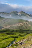 Top of the Vilyuchinsk Volcano Looking Through a Cloud, Kamchatka, Russia, Eurasia Photographic Print by  Michael