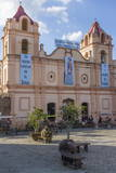 Candelaria Church, Plaza Del Carmen, Camaguey, Cuba, West Indies, Caribbean, Central America Photographic Print by  Rolf