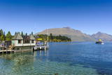 The Shores of Lake Wakatipu, Queenstown, Otago, South Island, New Zealand, Pacific Photographic Print by  Michael