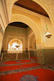 Interior of Mausoleum of Moulay Ismail, Meknes, Morocco, North Africa, Africa Photographic Print by  Neil